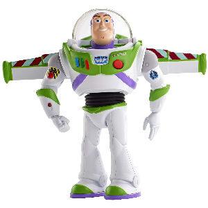 Figura de Buzz Lightyear Toy Story 4 con sonidos y movimiento de alas realista