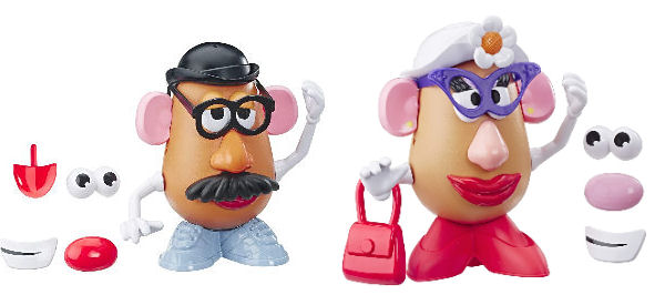 Figuras Mr. y Mrs. Potato Toy Story 4