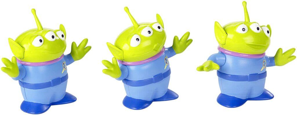 Figuras aliens de Toy Story