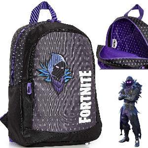 Fortnite mochila lila con la skin de Cuervo - Raven