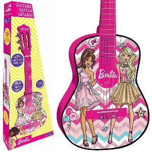 Guitarra Barbie para niñas y niños