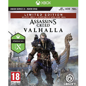 Juego Assassin´s Creed Valhalla limited edition para XBox X
