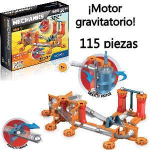 Juego Geomag con motor gravitatorio para niños