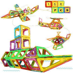 Juego de bloques magnéticos para niños