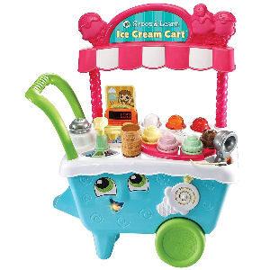 Juego de carrito de helados para niños, para crear tus propios cucuruchos