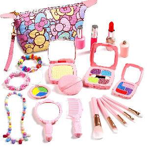 Juego de maquillaje para niñas y niños con bolsa