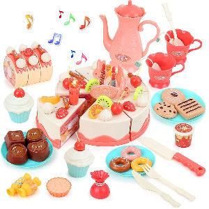Juego de pasteles repostería cocina para niñas