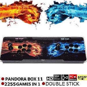 Juego retro con 2 Joysticks Pandora
