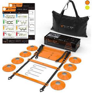Kit de entrenamiento de fútbol para mejorar velocidad y coordinación