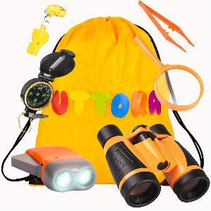Kit de explorador para niños, con accesorios para explorar e investigar