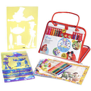 Kit de manualidades Disney con maletín de dibujo
