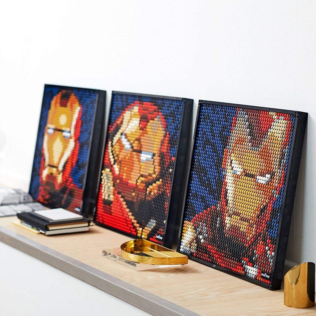 LEGO Iron Man 3 armaduras con piezas DIY