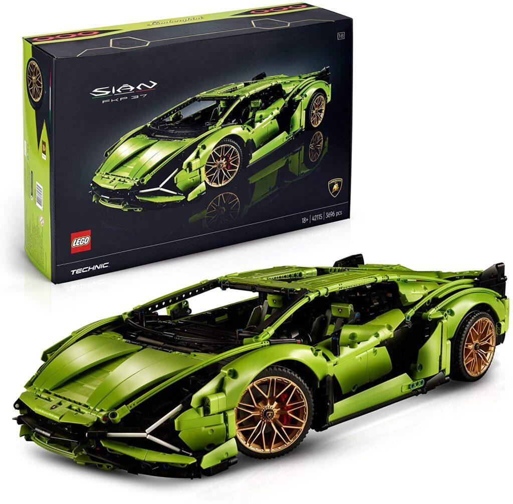 Lamborghini de LEGO, juego avanzado de coleccionista para adultos