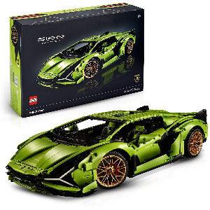 Lamborghini Sian de LEGO, juego avanzado de coleccionista para adultos