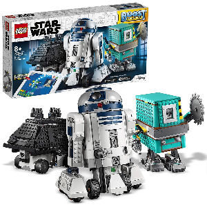 Lego Star Wars androides R2-D2, Gonk Droid y Mouse Droid