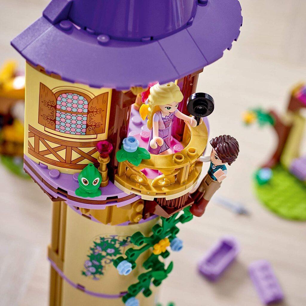 Castillo de Rapunzel lego Enredados