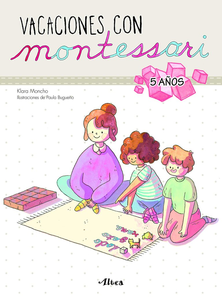 Libro vacaciones Montessori
