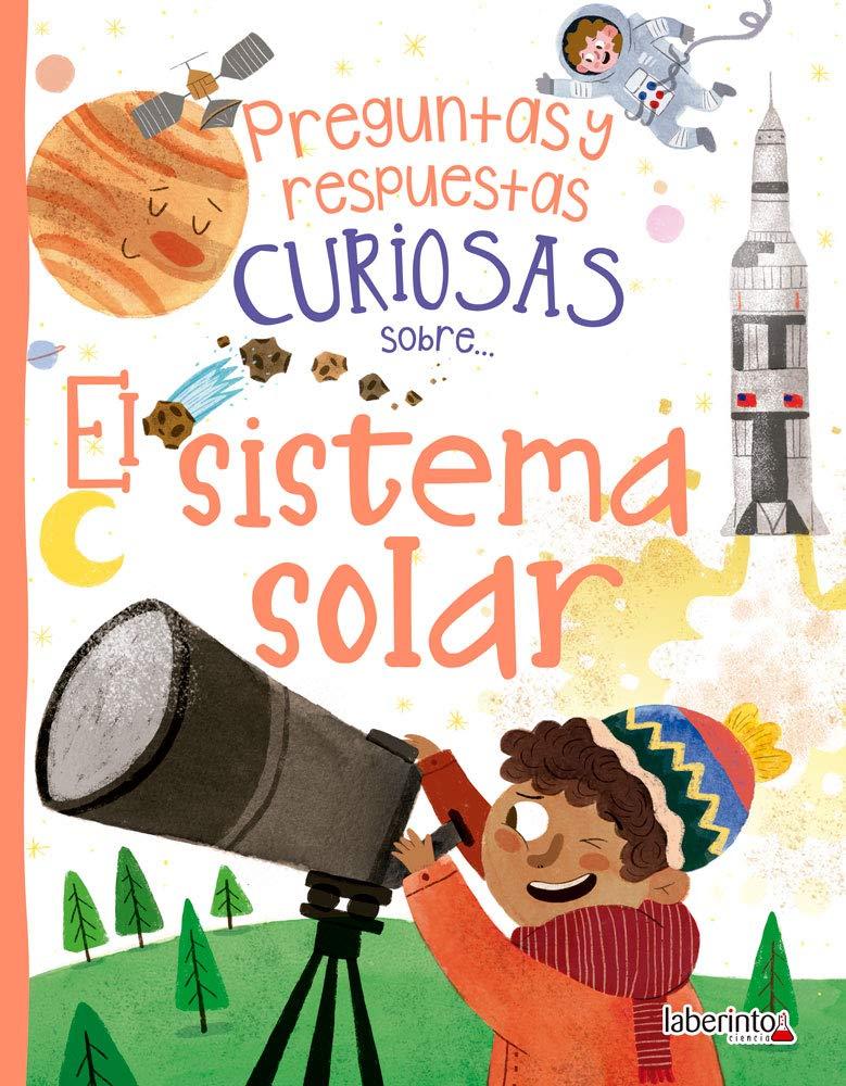 Libro con preguntas y respuesta sobre el Sistema Solar para niños