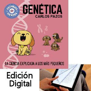 Libro electrónico de genética para niños, con ilustraciones de Carlos Pazos Mola Saber Radio Skylab, edición digital