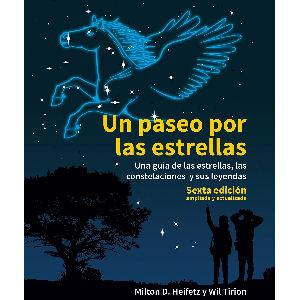 Libro un paseo por las estrellas para niños, guía de las estrellas, las constelaciones y sus leyendas