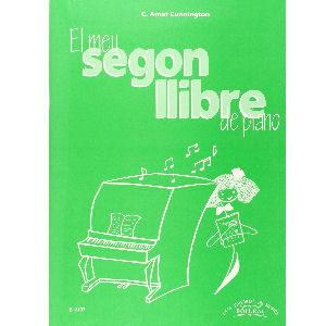 Llibre de piano en catalá, El meu segon llibre de piano, tapa blanda 126 páginas