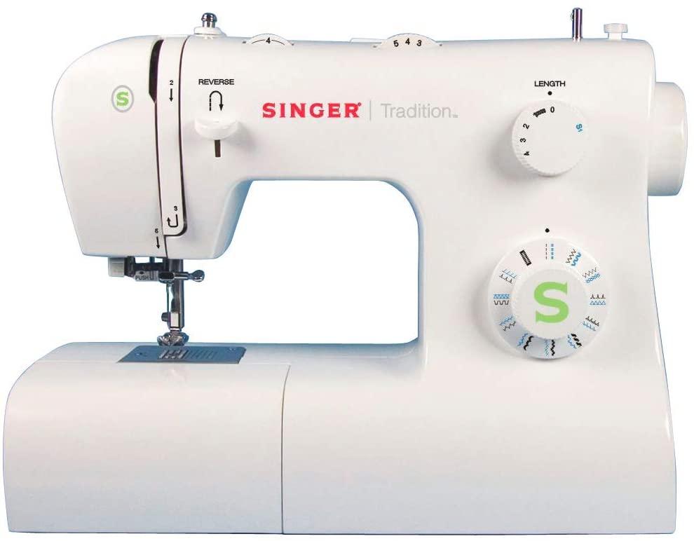 Maquina de coser Singer Tradition con 22 puntadas y ojalador automático