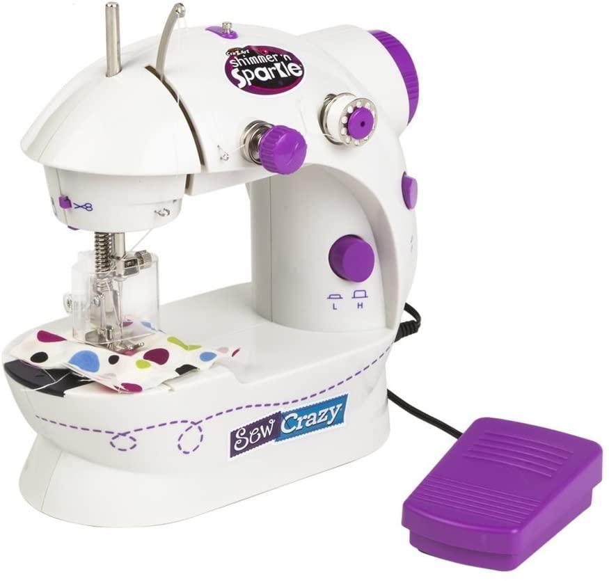 Máquina de coser a pilas para niñas y niños
