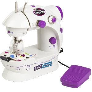 Máquina de coser a pilas para niñas y niños con luz