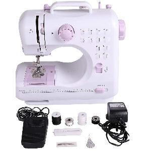 Máquina de coser eléctrica de 12 puntadas