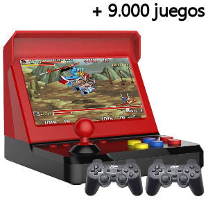 Máquina recreativa con 9.000 juegos arcade