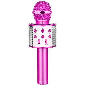 Micrófono bluetooth para niños con altavoz para hacer karaoke