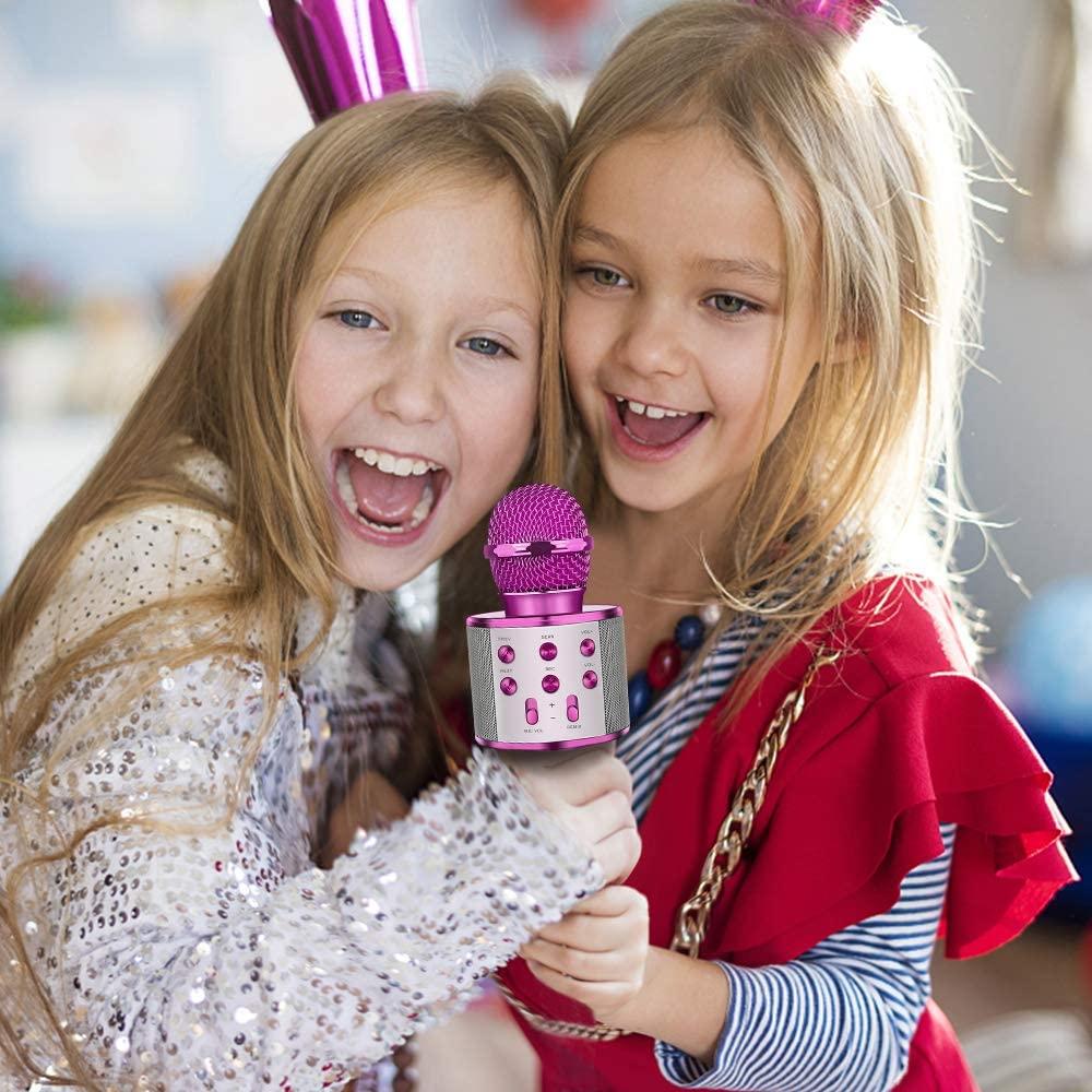 Micrófono para cantar niñas y niños