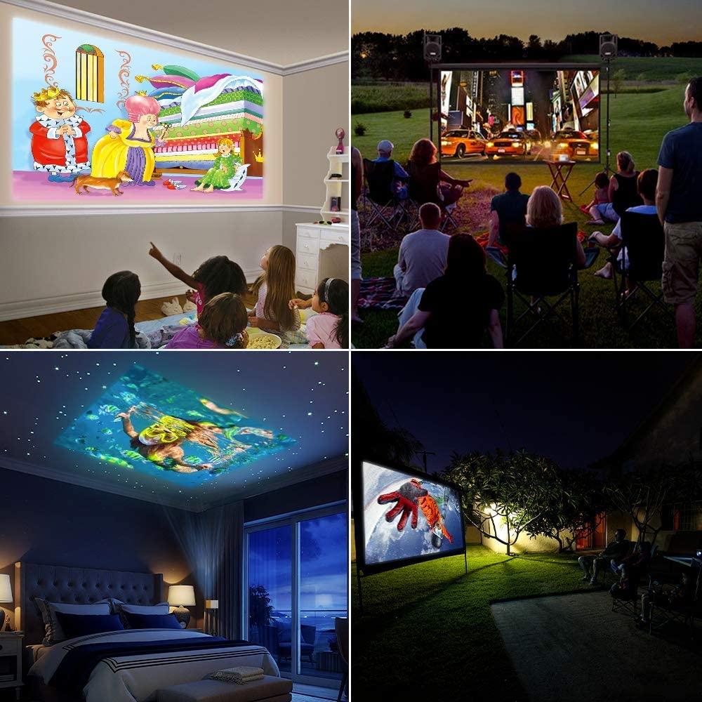 Mini proyector para niños