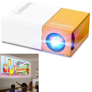 Mini proyector para niños 1080p