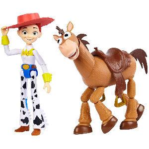Muñeco vaquera de Toy Story Jessie con caballo Perdigón