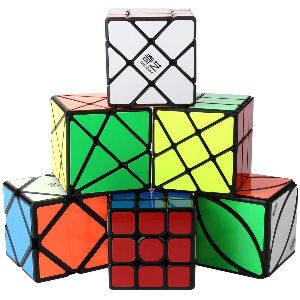 Pack de cubos de Rubik set de 6 cubos