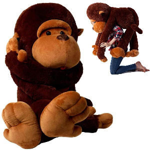 Peluche de mono gigante