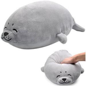 Peluche foca grande para niños y adultos