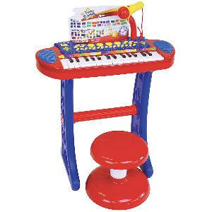 Piano para niños con teclado de 31 teclas, y 4 botones pads