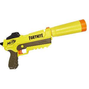 Pistola Nerf Fortnite con silenciador