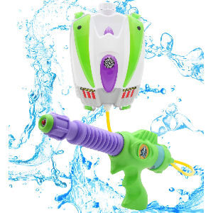 Pistola de agua de Buzz Lightyear con mochila de gran capacidad