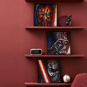 Poster de Star Wars LEGO de los Sith para adultos coleccionistas