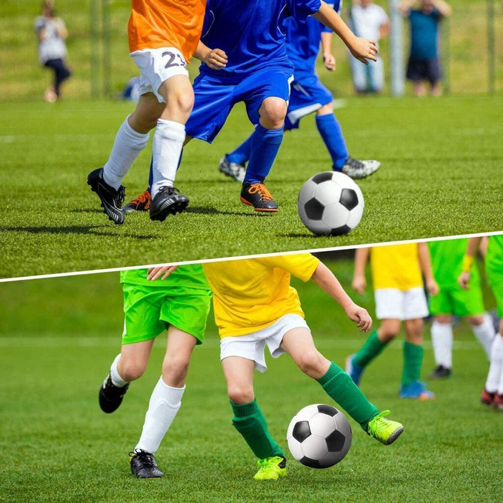 Protege las piernas de tu hijo para jugar al fútbol