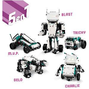 Robot LEGO interactivo, robot inventor 5 en 1