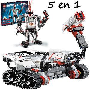 Robot Lego Mindstorm 5 en 1 programable con kit de iniciación para niños y niñas