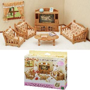 Set de muebles de hogar para la familia Sylvanian