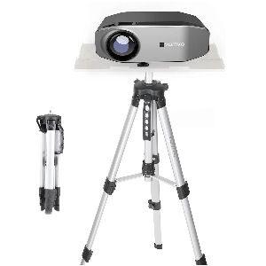 Soporte para proyector con trípode, ajustable en altura