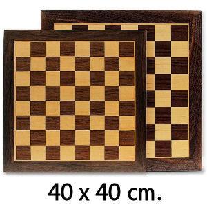 Tablero de ajedrez de 40 cm. con fieltro