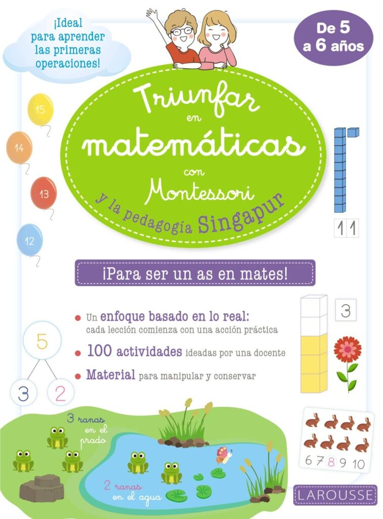 Libro Triunfar en matemáticas con el método Montessori