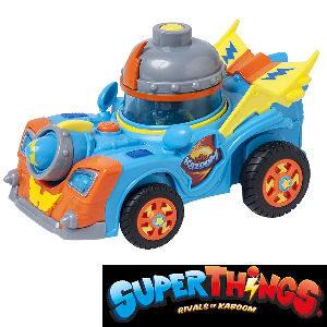 Vehículo Kid Kazoom de SuperThings Rivals of Kaboom